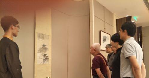 转中国江苏网:大风堂同人三代书画展常熟开幕 张善孖张大千墨宝现身虞城