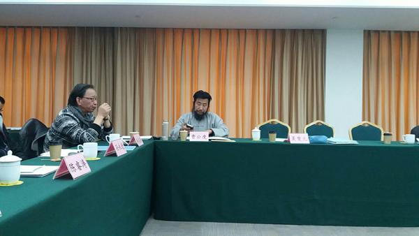 曹公度出席上海市文联主管社团2017年度工作总结会