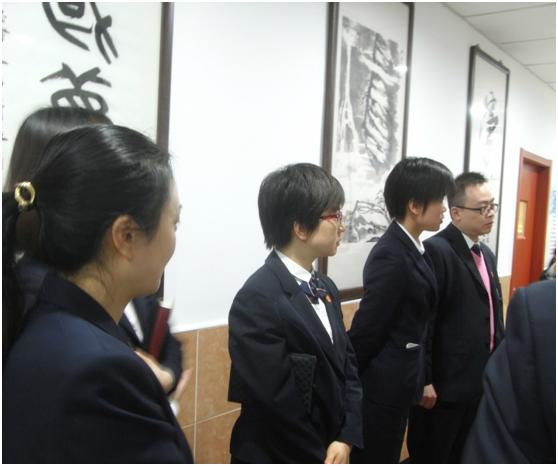 虹口区就业促进中心全体人员走访上海市青年(大学生)职业训练营虹口营