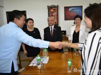 联合国太平洋地区发展与教育组织受邀拜访菲律宾政府国会参议长皮门特尔先生!