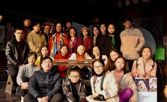 琴瑟知音——名家公益进社区系列活动之上海大风堂琴社新年雅集走进苏州山塘街