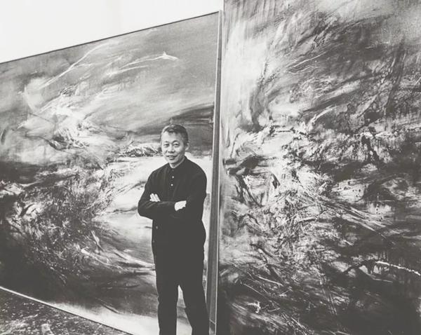 赵无极:我国的现实主义不仅否定了艺术,也否定了传统,艺术让我不怕死