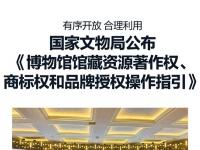 国家文物局公布《博物馆馆藏资源著作权、商标权和品牌授权操作指引》