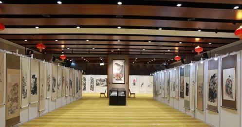 转东方资讯:纪念张大千宗师诞辰120周年书画文献展在京开幕