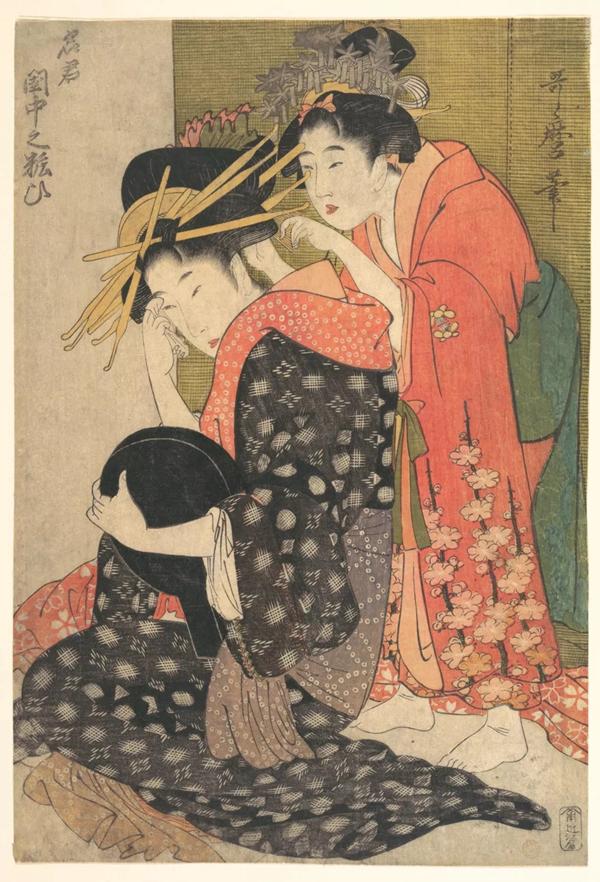 日本浮世绘三大家,220张,建议收藏!