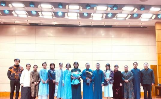 江山春时风雅可颂  --2021年迎新古琴音乐会纪实